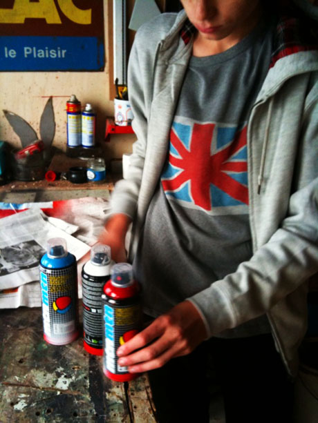 tee-shirt customisé union jack