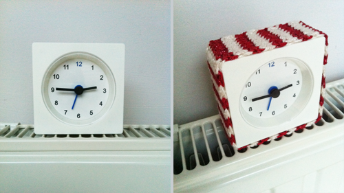 réveil Ikea et crochet